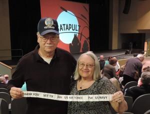Patricia attended Catapult on Mar 5th 2018 via VetTix