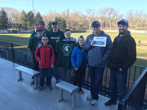 Andrew attended Michigan State Spartans vs. Rutgers - NCAA Men's Baseball on Mar 30th 2018 via VetTix