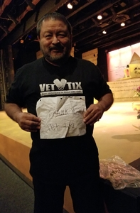 Lorenzo attended The Hobbit by Valley Youth Theatre - Special Military Performance on Feb 23rd 2018 via VetTix