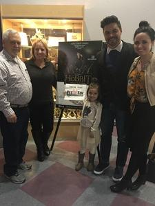 Gene attended The Hobbit by Valley Youth Theatre - Special Military Performance on Feb 23rd 2018 via VetTix