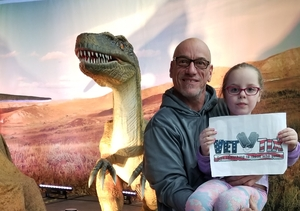 Anthony attended Discover the Dinosaurs - Time Trek - Presented by Vstar Entertainment on Mar 23rd 2018 via VetTix