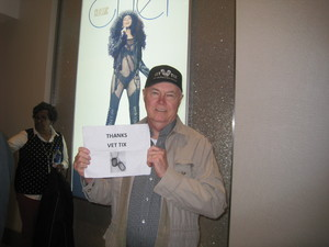 Robert attended Cher Live at the MGM National Harbor Theater on Feb 22nd 2018 via VetTix