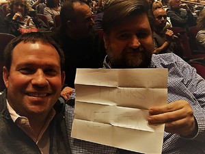 James attended Cher Live at the MGM National Harbor Theater on Feb 22nd 2018 via VetTix