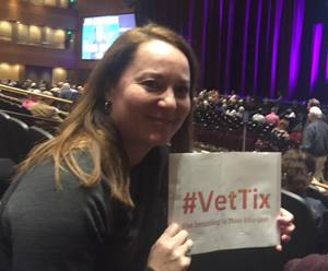 Wendy attended Cher Live at the MGM National Harbor Theater on Feb 22nd 2018 via VetTix