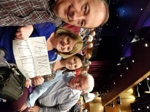 Dean Schultz attended Cher Live at the MGM National Harbor Theater on Feb 22nd 2018 via VetTix