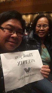 Minhtien attended Cher Live at the MGM National Harbor Theater on Feb 22nd 2018 via VetTix
