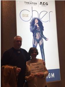 Wallace attended Cher Live at the MGM National Harbor Theater on Feb 22nd 2018 via VetTix