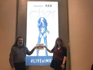 Danny attended Cher Live at the MGM National Harbor Theater on Feb 22nd 2018 via VetTix