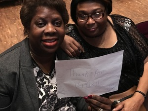 Quinntella attended Cher Live at the MGM National Harbor Theater on Feb 22nd 2018 via VetTix