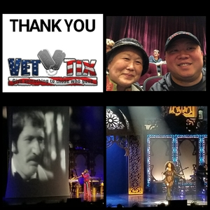 Matthew attended Cher Live at the MGM National Harbor Theater on Feb 22nd 2018 via VetTix
