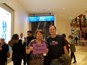 Michael attended Cher Live at the MGM National Harbor Theater on Feb 22nd 2018 via VetTix