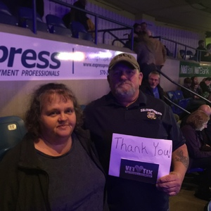 Robert attended The Breakers Tour Featuring Little Big Town With Kacey Musgraves and Midland on Feb 22nd 2018 via VetTix