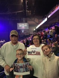 James attended The Breakers Tour Featuring Little Big Town With Kacey Musgraves and Midland on Feb 22nd 2018 via VetTix