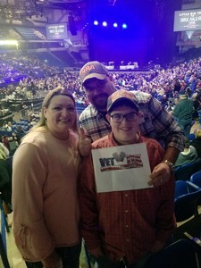 Lee attended The Breakers Tour Featuring Little Big Town With Kacey Musgraves and Midland on Feb 22nd 2018 via VetTix