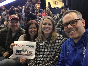Brett attended Brad Paisley - Weekend Warrior World Tour With Dustin Lynch, Chase Bryant and Lindsay Ell on Feb 24th 2018 via VetTix