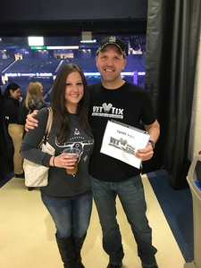 Jeff attended Brad Paisley - Weekend Warrior World Tour With Dustin Lynch, Chase Bryant and Lindsay Ell on Feb 24th 2018 via VetTix