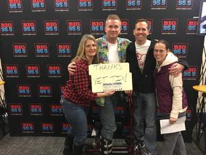 F. Josellis attended Brad Paisley - Weekend Warrior World Tour With Dustin Lynch, Chase Bryant and Lindsay Ell on Feb 24th 2018 via VetTix