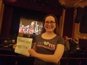 Lisabeth attended Dave Davies of the Kinks on Mar 29th 2018 via VetTix