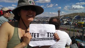 SALLY attended 2018 TicketGuardian 500 - Monster Energy NASCAR Cup Series on Mar 11th 2018 via VetTix