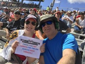Dan attended 2018 TicketGuardian 500 - Monster Energy NASCAR Cup Series on Mar 11th 2018 via VetTix