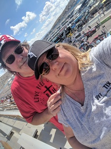 Marie attended 2018 TicketGuardian 500 - Monster Energy NASCAR Cup Series on Mar 11th 2018 via VetTix