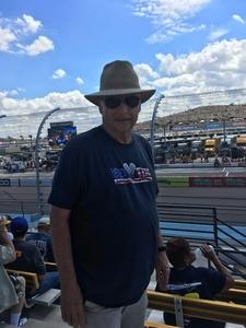 William attended 2018 TicketGuardian 500 - Monster Energy NASCAR Cup Series on Mar 11th 2018 via VetTix