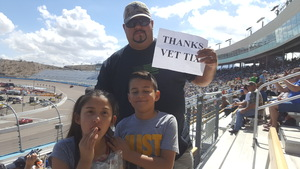 armando attended 2018 TicketGuardian 500 - Monster Energy NASCAR Cup Series on Mar 11th 2018 via VetTix