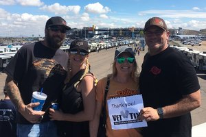 Travis attended 2018 TicketGuardian 500 - Monster Energy NASCAR Cup Series on Mar 11th 2018 via VetTix