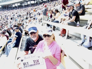 David attended 2018 TicketGuardian 500 - Monster Energy NASCAR Cup Series on Mar 11th 2018 via VetTix