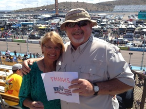 Glenn attended 2018 TicketGuardian 500 - Monster Energy NASCAR Cup Series on Mar 11th 2018 via VetTix