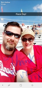 Benjamin attended 2018 TicketGuardian 500 - Monster Energy NASCAR Cup Series on Mar 11th 2018 via VetTix