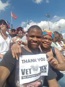 Cameron attended 2018 TicketGuardian 500 - Monster Energy NASCAR Cup Series on Mar 11th 2018 via VetTix
