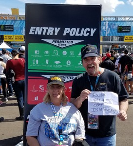 Matthew attended 2018 TicketGuardian 500 - Monster Energy NASCAR Cup Series on Mar 11th 2018 via VetTix