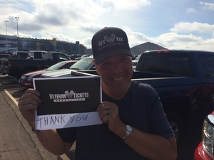 Richard Adam and Jayden attended 2018 TicketGuardian 500 - Monster Energy NASCAR Cup Series on Mar 11th 2018 via VetTix