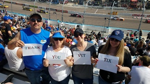 Timothy attended 2018 TicketGuardian 500 - Monster Energy NASCAR Cup Series on Mar 11th 2018 via VetTix