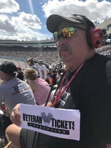 gary attended 2018 TicketGuardian 500 - Monster Energy NASCAR Cup Series on Mar 11th 2018 via VetTix