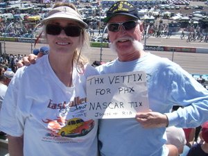 john attended 2018 TicketGuardian 500 - Monster Energy NASCAR Cup Series on Mar 11th 2018 via VetTix