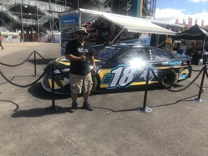 Jorge attended 2018 TicketGuardian 500 - Monster Energy NASCAR Cup Series on Mar 11th 2018 via VetTix