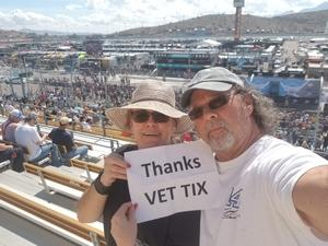 Paul attended 2018 TicketGuardian 500 - Monster Energy NASCAR Cup Series on Mar 11th 2018 via VetTix
