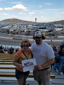 Chuck attended 2018 TicketGuardian 500 - Monster Energy NASCAR Cup Series on Mar 11th 2018 via VetTix