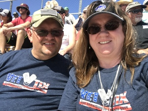 Gregory attended 2018 TicketGuardian 500 - Monster Energy NASCAR Cup Series on Mar 11th 2018 via VetTix