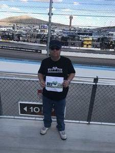 robert attended 2018 TicketGuardian 500 - Monster Energy NASCAR Cup Series on Mar 11th 2018 via VetTix
