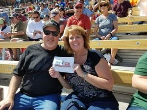ken attended 2018 TicketGuardian 500 - Monster Energy NASCAR Cup Series on Mar 11th 2018 via VetTix