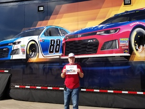 steven attended 2018 TicketGuardian 500 - Monster Energy NASCAR Cup Series on Mar 11th 2018 via VetTix
