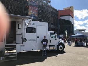 John attended 2018 TicketGuardian 500 - Monster Energy NASCAR Cup Series on Mar 11th 2018 via VetTix
