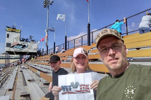 Keith attended 2018 TicketGuardian 500 - Monster Energy NASCAR Cup Series on Mar 11th 2018 via VetTix