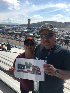 Edward attended 2018 TicketGuardian 500 - Monster Energy NASCAR Cup Series on Mar 11th 2018 via VetTix