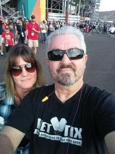 Jon attended 2018 TicketGuardian 500 - Monster Energy NASCAR Cup Series on Mar 11th 2018 via VetTix