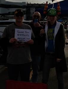 Brian Kimber attended 2018 TicketGuardian 500 - Monster Energy NASCAR Cup Series on Mar 11th 2018 via VetTix