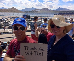 Marshall attended 2018 TicketGuardian 500 - Monster Energy NASCAR Cup Series on Mar 11th 2018 via VetTix